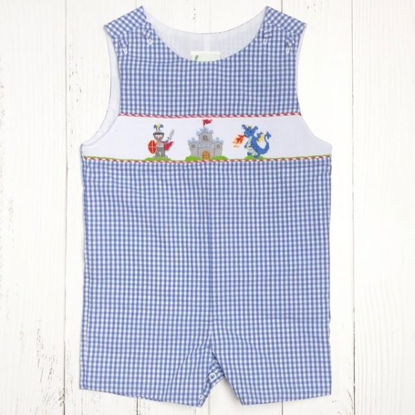 ZUCCINI CASTLE BOY SHORTALL