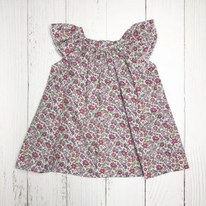 ZUCCINI PRINTED FLOWER DRESS