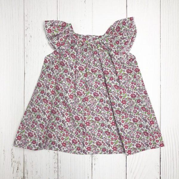 ZUCCINI PRINTED FLOWER DRESS
