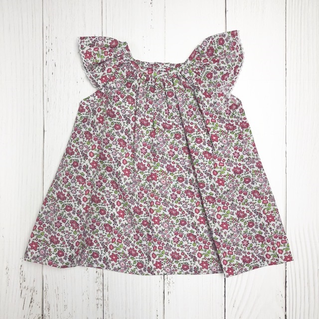 ZUCCINI PRINTED FLOWER DRESS SET