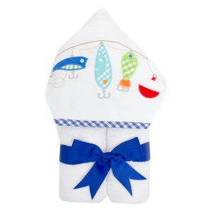 3 MARTHAS FISHING POLE EVERYKID TOWEL