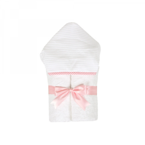 3 MARTHAS PINK CHECK EVERYDAY TOWEL
