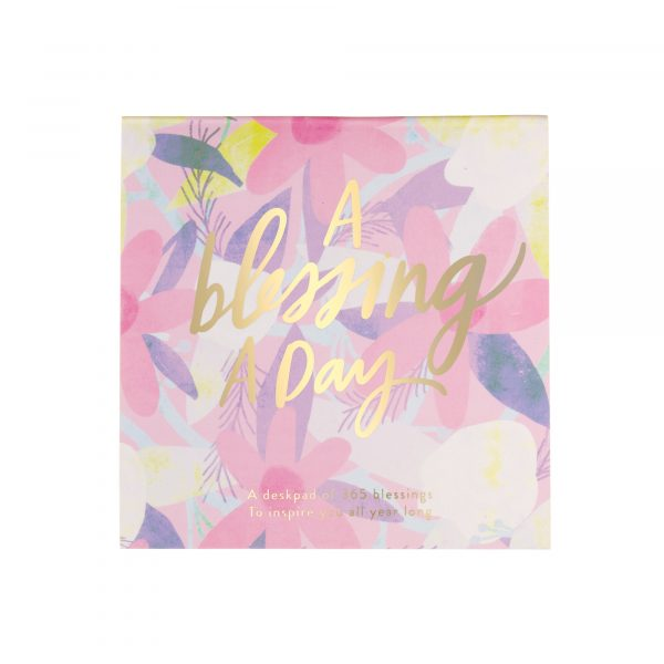 A BLESSING A DAY NOTEPAD