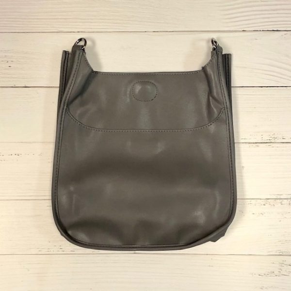 AHDORNED CLASSIC SOFT FAUX LEATHER MESSENGER BAG