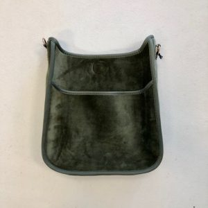 AHDORNED VELVET MESSENGER BAGS