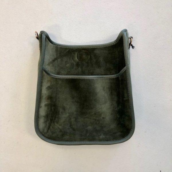 AHDORNED VELVET MESSENGER BAGS