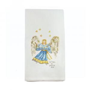 ANGEL PEACE ON EARTH DISHTOWEL