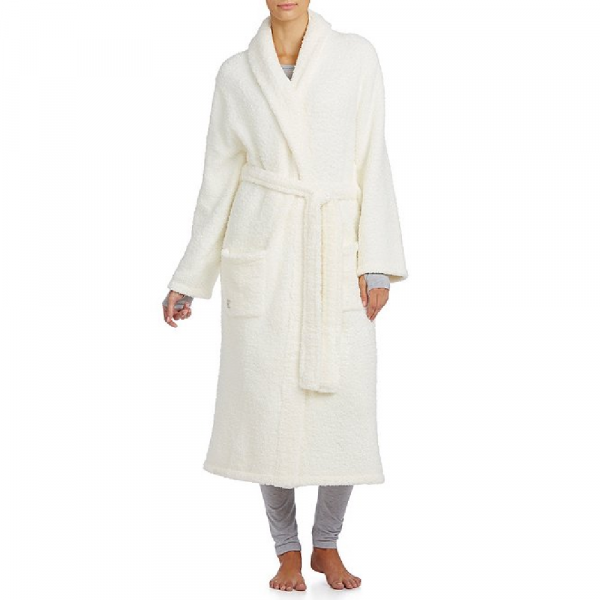 BAREFOOT DREAMS COZYCHIC ROBE IN PEARL
