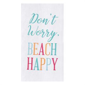 BEACH HAPPY DISH TOWEL