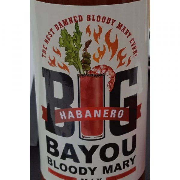 BIG BAYOU HABANERO BLOODY MARY MIX - 5OZ