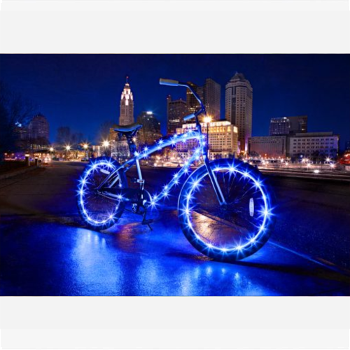 BIKE LIGHTS COMBO - BLUE
