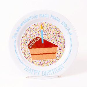 BIRTHDAY MELAMINE PLATE