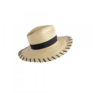 BLACK TRINIDAD HAT