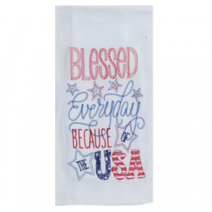 BLESSED EVERYDAY FLOUR SACK TOWEL