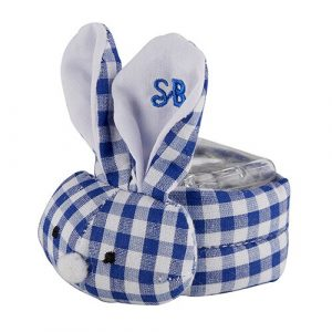 BLUE GINGHAM BOO BUNNIE