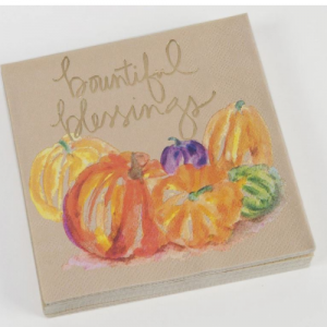 BOUNTIFUL BLESSINGS BEVERAGE NAPKIN