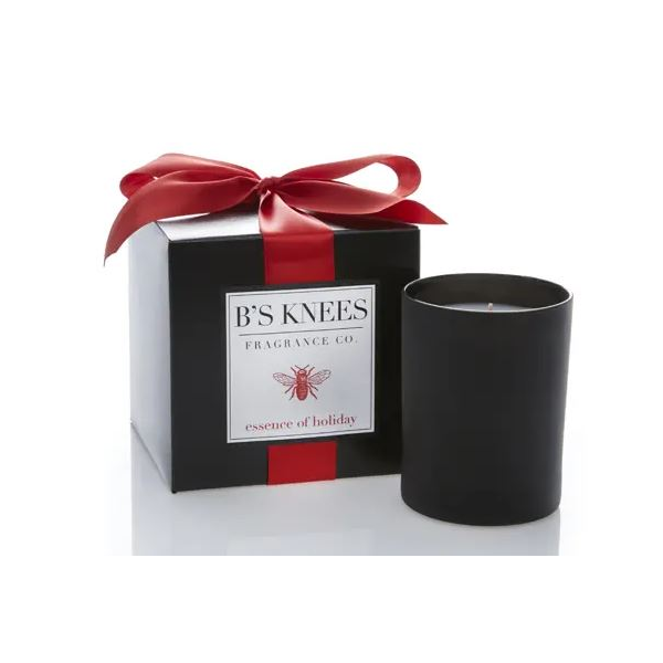 B'S KNEES ESSENCE OF HOLIDAY 1-WICK CANDLE