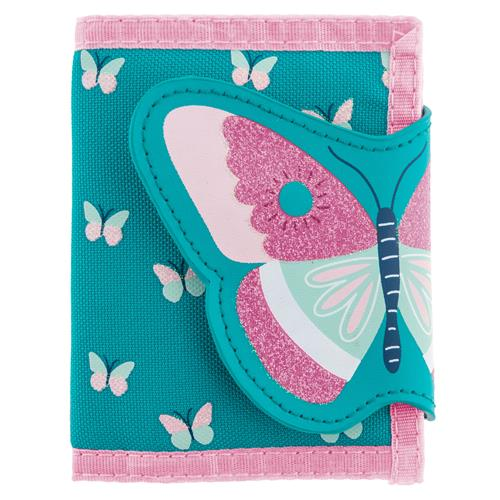 BUTTERFLY FLORAL WALLET