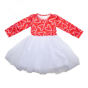 CANDY CANE CUTIE TUTU DRESS