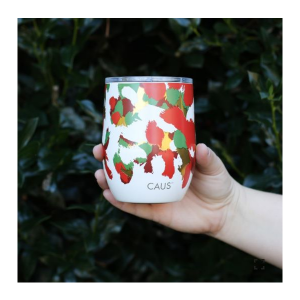 CAUS TUMBLER IN CHRISTMAS CHEER 12 OZ