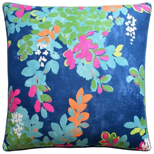 CENTRAL PARK NAVY PINK PILLOW