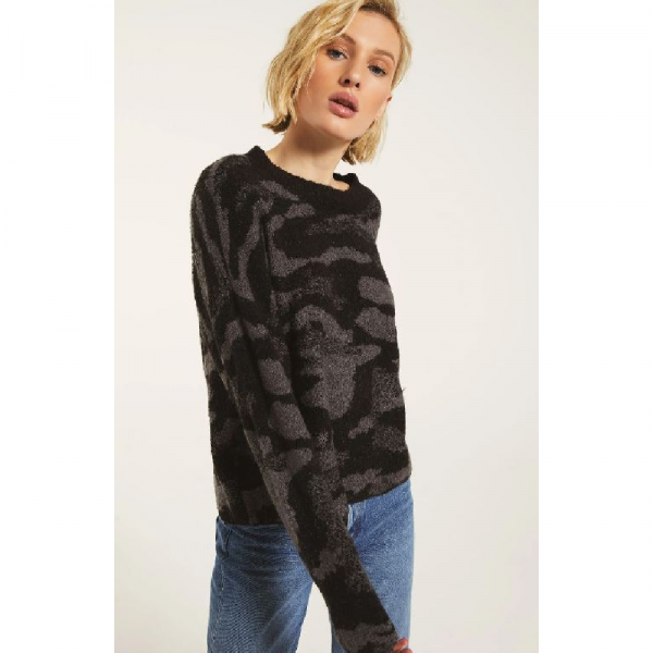 CHARCOAL BODRUM SWEATER