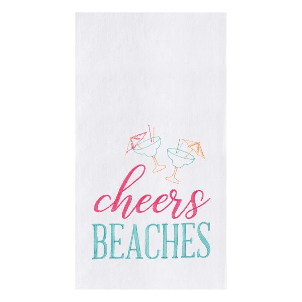 CHEERS BEACHES DISH TOWEL