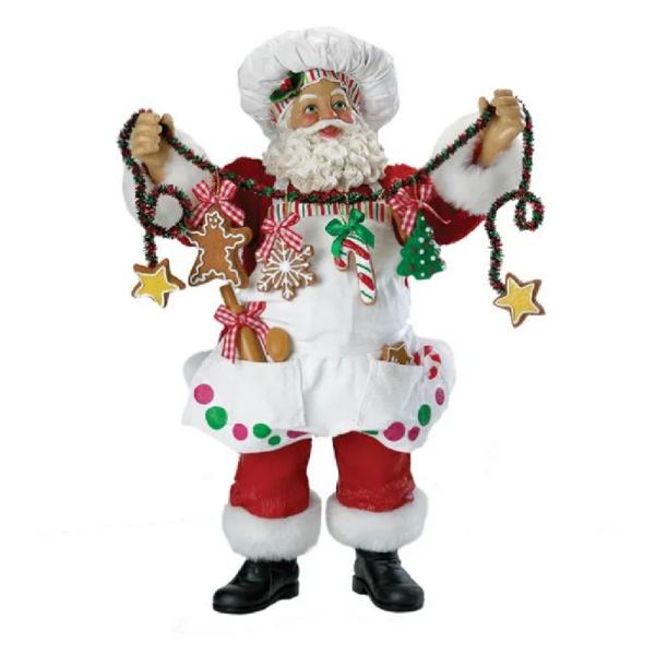 CHRISTMAS CHEF SANTA
