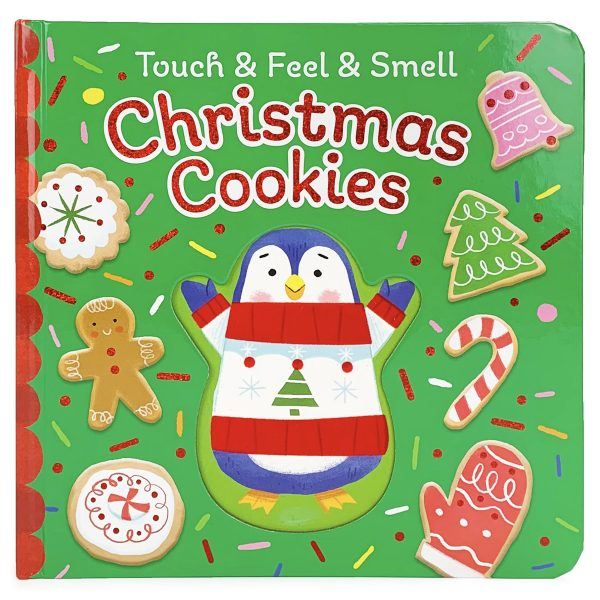 CHRISTMAS COOKIES TOUCH, FEEL, AND SMELL BOOK