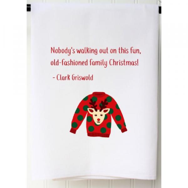 CHRISTMAS VACATION FLOUR SACK TOWEL