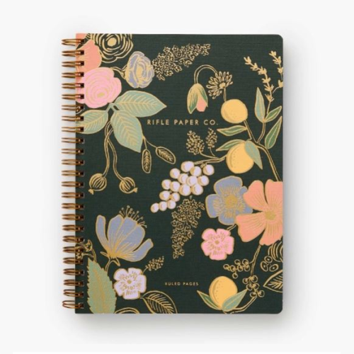 RIFLE PAPER COLETTE SPIRAL NOTEBOOK