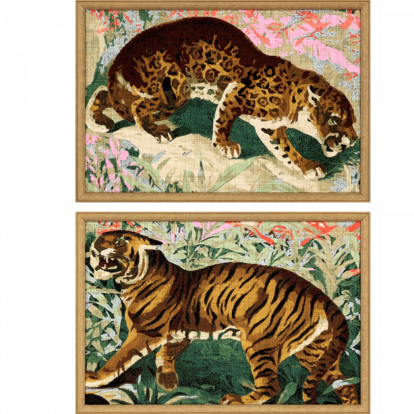 CONCRETE JUNGLE CATS ART