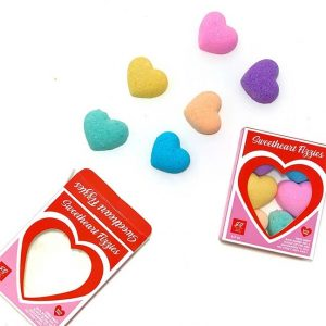 CONVERSATION HEART BATH FIZZIES