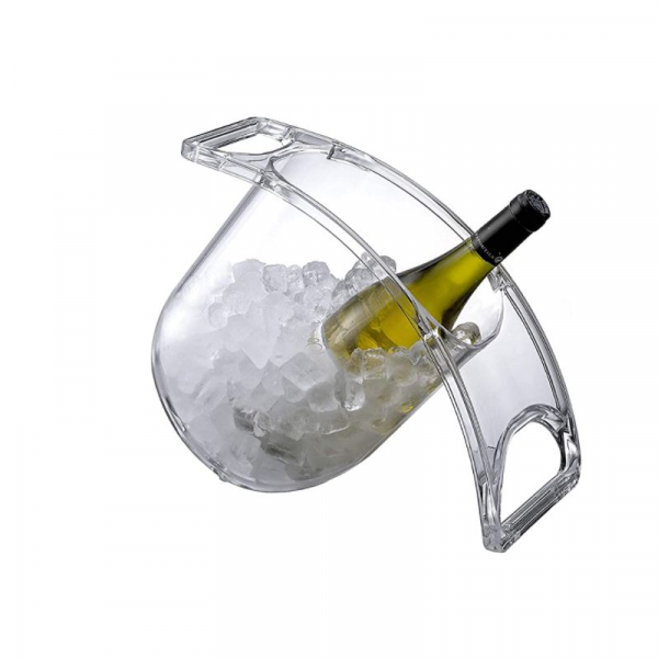 COOLING CURVE CLEAR WINE BUCKET