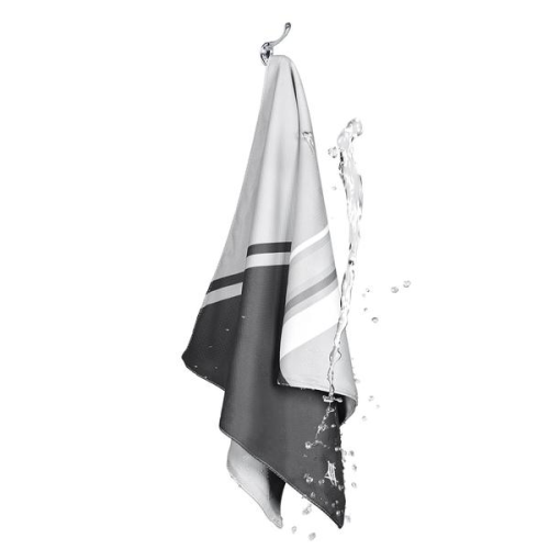 DOCK & BAY COOLING TOWEL PACE GREY