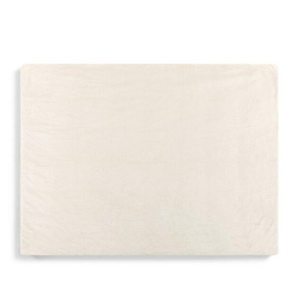 CREAM WEIGHTED THROW BLANKET