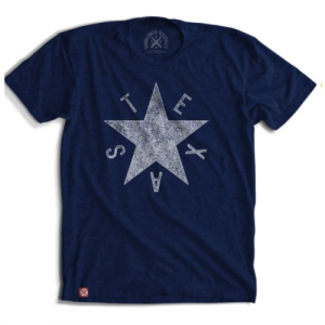 DEZAVALA STAR TEXAS CREW NECK SHIRT