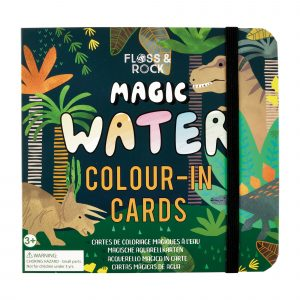 DINO WATER PEN COLOR- IN CARDS