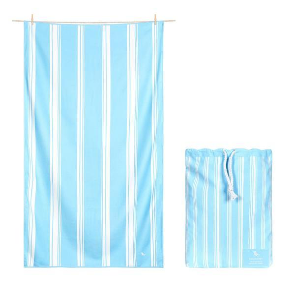 DOCK & BAY BATH TOWEL IN CHAMOMILE BLUE