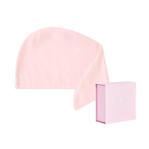 DOCK & BAY HAIR WRAP TOWEL IN BERMUDA PINK