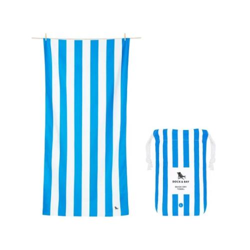 DOCK & BAY QUICK DRY BEACH TOWEL - BONDI BLUE