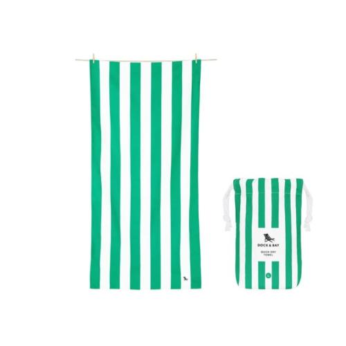 DOCK & BAY QUICK DRY BEACH TOWEL- CANCUN GREEN