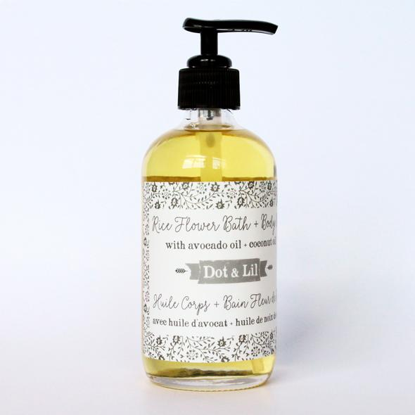 DOT & LIL BATH AND BODY OIL