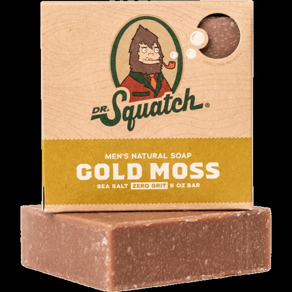 DR. SQUATCH 5 OZ MEN'S NATURAL SOAP - GOLDMOSS
