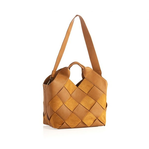 ELLIE WOVEN TOTE