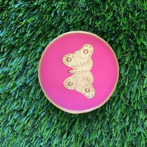 EMBOSSED LARGE BUTTERFLY BLESSING BOWL