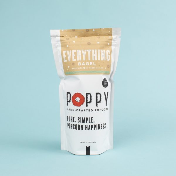 POPPY EVERYTHING BAGEL HAND-CRAFTED POPCORN