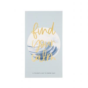 FIND YOUR CALM NOTEPAD