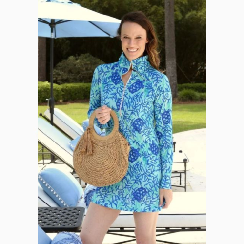 FINLEY FAVORITE STRAW BAG WITH HANDLE