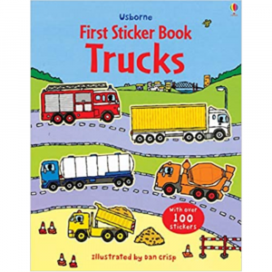 FIRST STICKER BOOK TRUCKS